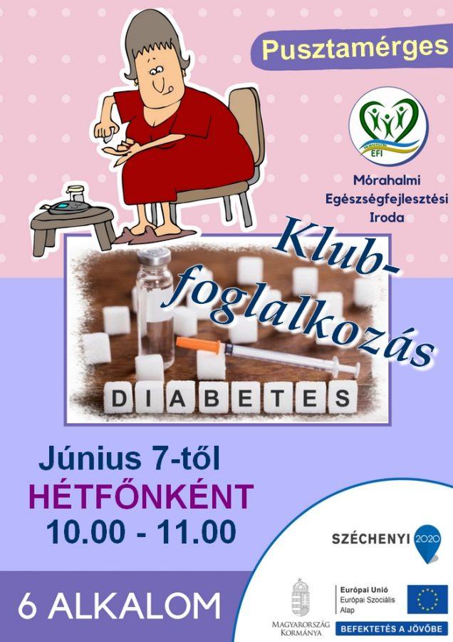 Diabetes Klub helyben @ Gondozási Központ