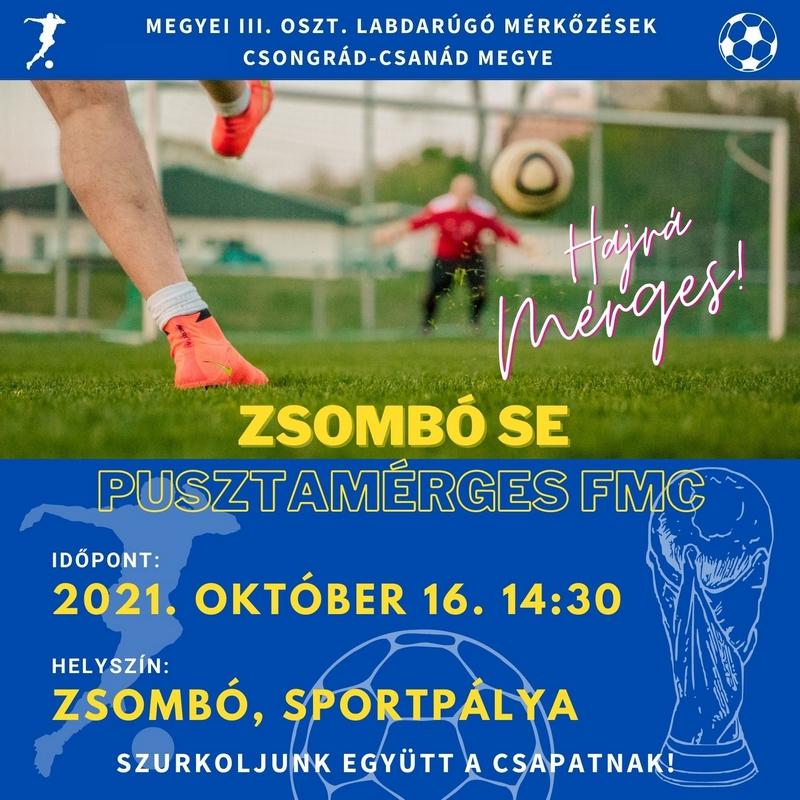 Zsombó SE - Pusztamérges FMC @ sportpálya